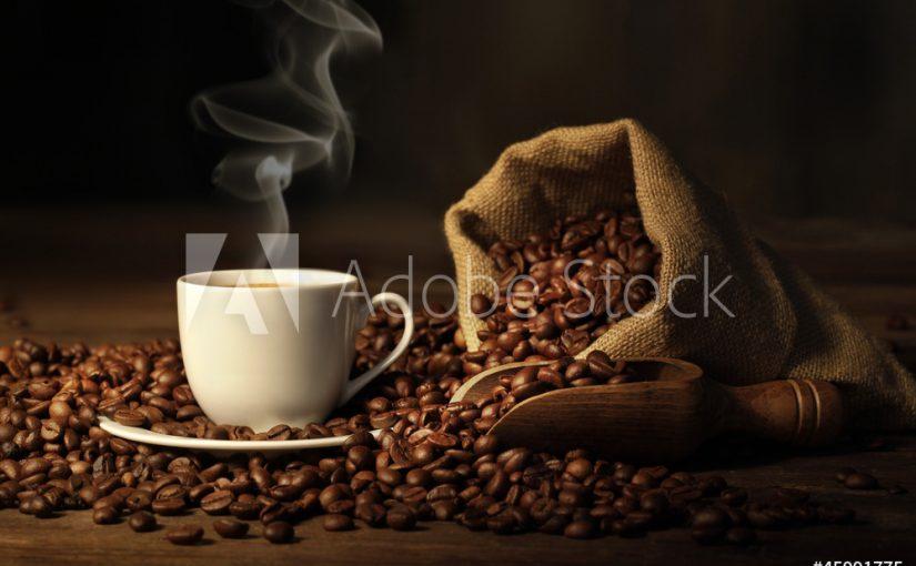 Koffieliefhebber? Bestel een keuken foto achterwand met koffiebonen